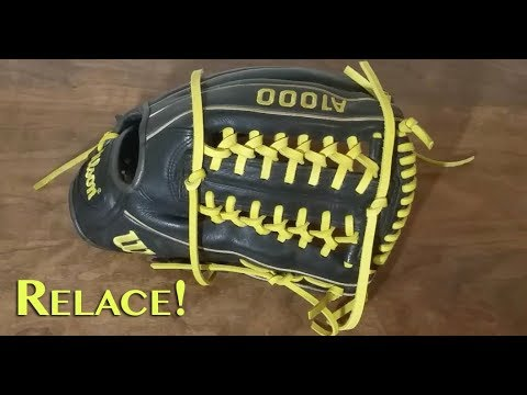Wilson A1000 Modified Trapeze Relacing!