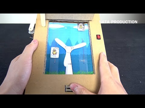 How To Make Ouchy Bird from Cardboard - [ No.2] Amazing Game from Cardboard