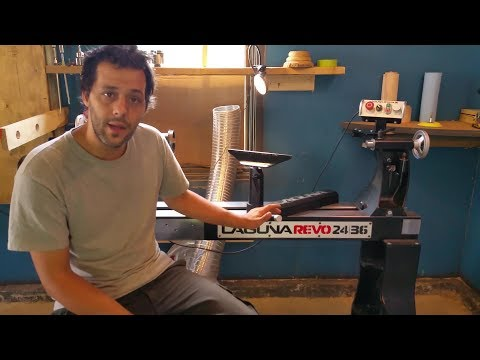 Laguna Revo 24/36 Review , My new lathe