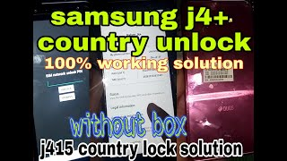 j415f country lock unlock Videos - 9tube tv
