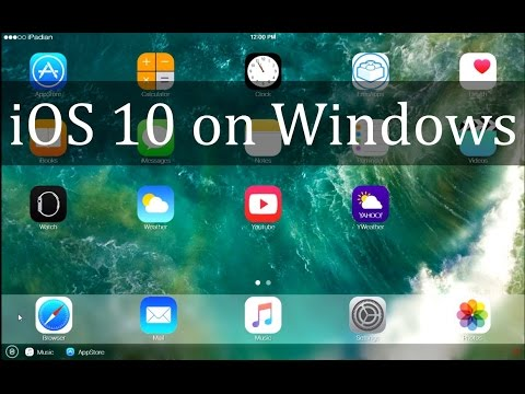 iOS 10 Simulator on Windows 7/8/10!!