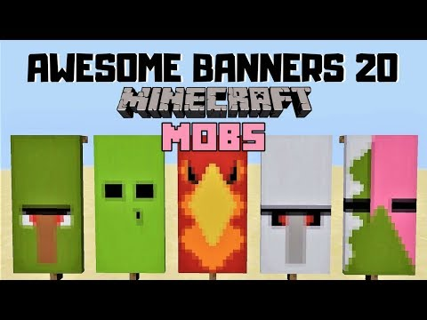 ✔ 5 AWESOME MINECRAFT BANNER DESIGNS WITH TUTORIAL! #20