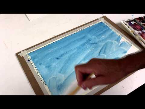 Make Pastel Paper from Watercolor Paper