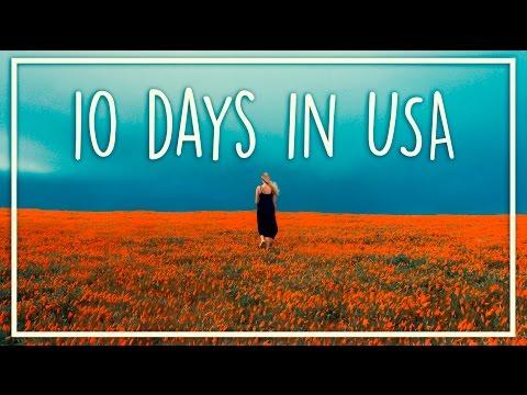 10 day road trip - LA, San Fran & Las Vegas