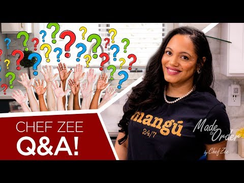 Q&A, About Me, Get To Know Me | What's My Real Name? Favorite Dish? | Made To Order | Chef Zee Cooks