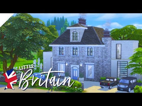 The Sims 4: Speed Build | Little Britain | Lewes, East Sussex (CC Free)