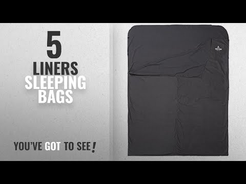Top 5 Liners Sleeping Bags [2018]: TETON Sports Mammoth Sleeping Bag Liner for Travel and Camping