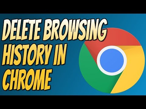 How to Delete Browser History for Google Chrome | Clear Browsing History In Chrome Tutorial