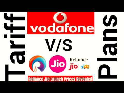 Vodafone V/S Reliance Jio Tariff Plans in details