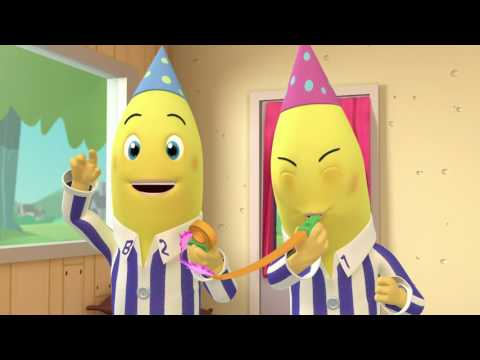 The Birthdays - Animated Episode - Bananas in Pyjamas Official