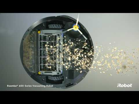 Roomba® 600 Series Wi-Fi Connected Vacuuming Robot