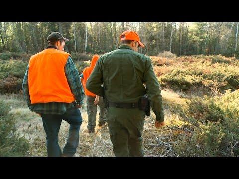 Hunter Tries to Hide His Deer Bait