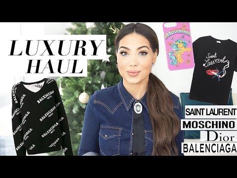 Luxury Haul: Balenciaga, Saint Laurent, Dior, Moschino & Some Zara