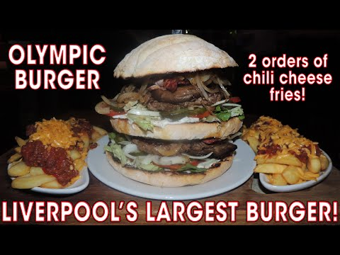 LIVERPOOL'S LARGEST BURGER CHALLENGE!! (REMATCH)