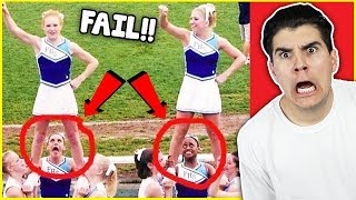 The Funniest Cheerleading Fails Of 2017!