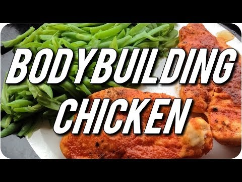 EASY OVEN CHICKEN RECIPE (BODYBUILDING-FRIENDLY)