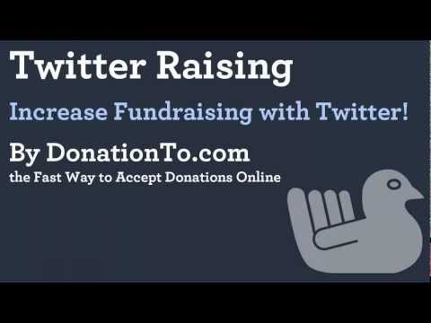 Fundraising with Twitter | Online Donations | Online Charity | Online Giving