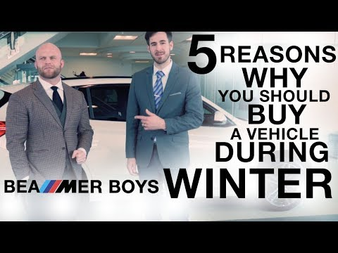 5 Reasons Why Winter Is The Best Time To Buy A Vehicle
