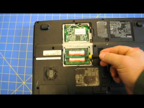 HP PAVILION DV5 How to take hard drive out