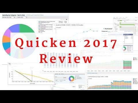 Quicken 2017 Review - Deluxe, Premier, Home & Business
