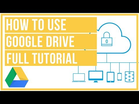 Google Drive Full Tutorial From Start To Finish - How To Use Google Drive