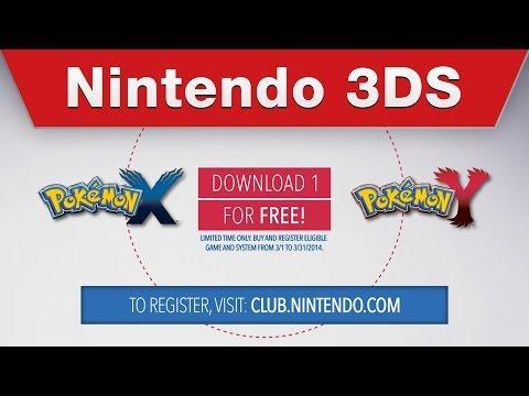 Nintendo 3DS - Free Pokémon X / Pokémon Y Digital Download Offer (US/CAN)