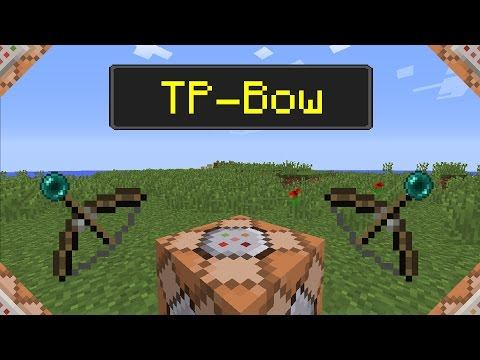 TP-Bow in Minecraft 1.12 | Command Tutorial [ENG-SUB]