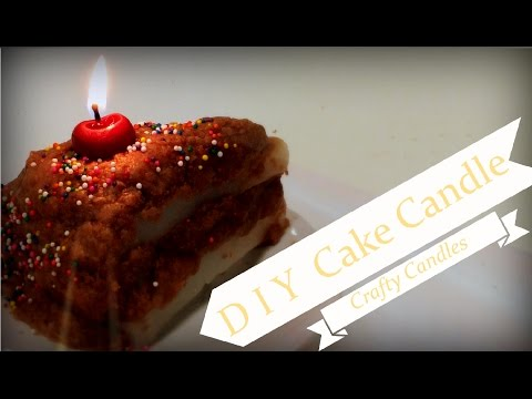 DIY | Cake Candle | Crafty Candles Canada