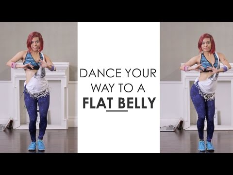 Zumba Inspired Belly Dance To Get A Flat Stomach | Fitness With Sucheta Pal