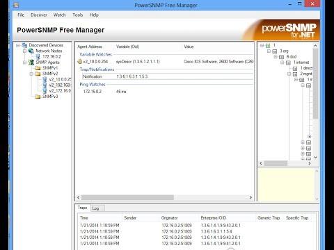 SNMP Freeware Setup Cisco