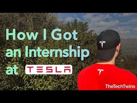 How I Got an Internship at Tesla - TheTechTwins