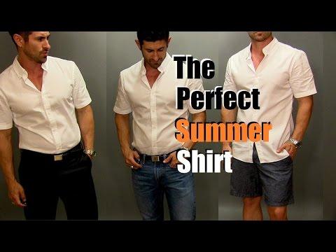 The Perfect Summer Shirt | Most Versatile Men's Summer Shirt Styled 3 Ways