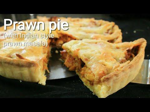 Pie recipe - Prawn pie recipe -   Easy pie recipe - Pie with Indian prawn masala - Pie crust