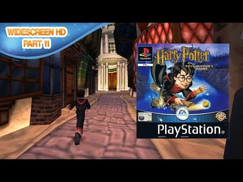 Harry Potter and the SS/PS [PS1] - Part 11: Diagon Alley | [Widescreen HD]