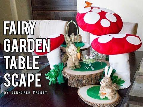 How to Make Giant Mushrooms - Fairy Garden - Mario Bros