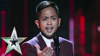 Rodelle blows everyone away with his stunning performance | Ireland's Got Talent 2019