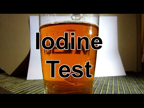Simple Chemistry Experiment: Iodine Test