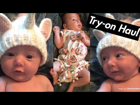 What's in my Baby's Closet? Try-On Haul