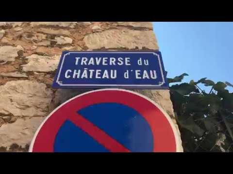 Gardening in the French Village of Saint Cézaire sur Siagne - Patio Gardeners on Vacation
