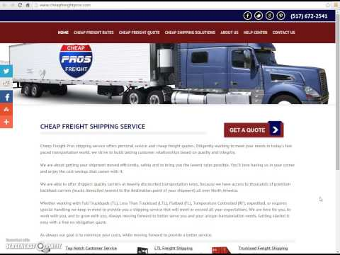 Freight Shipping for Your Business and Shipping Rates