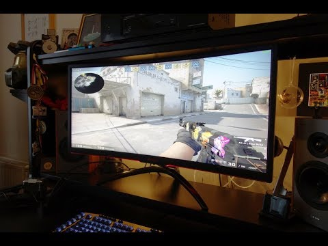 AOC AG352UCG6 Black Edition review - The BEST ultrawide gaming monitor - By TotallydubbedHD