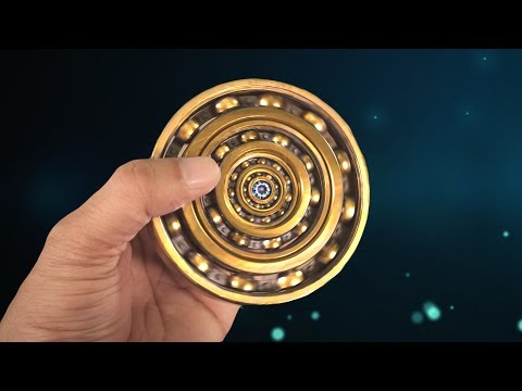ONE OF THE FASTEST BEARING SPINNER -  SOUND LIKE JET ENGINE