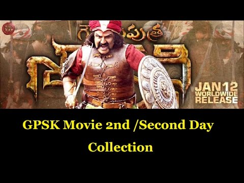 Watch GPSK Movie 2nd day collection | Gautamiputra Satakarni Movie Second Day Collections