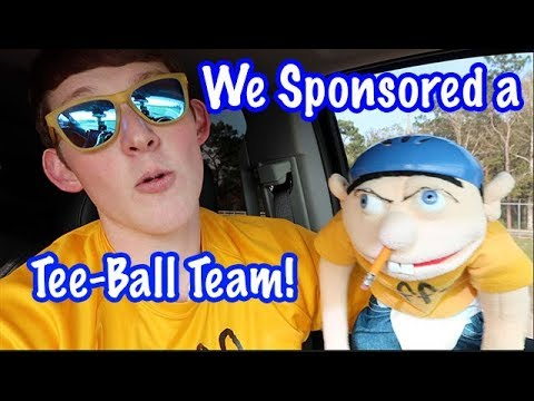 Jeffy Sponsored a Tee-Ball Team!