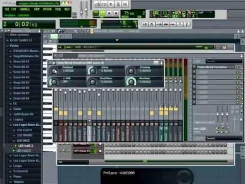 How to make A Reggae Beat with Fl by Gutta Beatzz