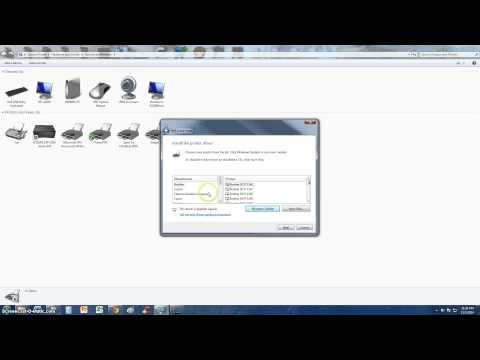 How To Manually Install A USB Printer On Windows
