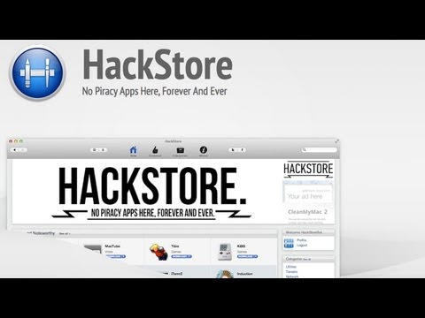 Hackstore: The Free AppStore with no Restrictions (Mac App)