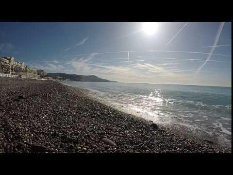 NICE FRANCE TIMELAPSE - Sea Glass Hunting