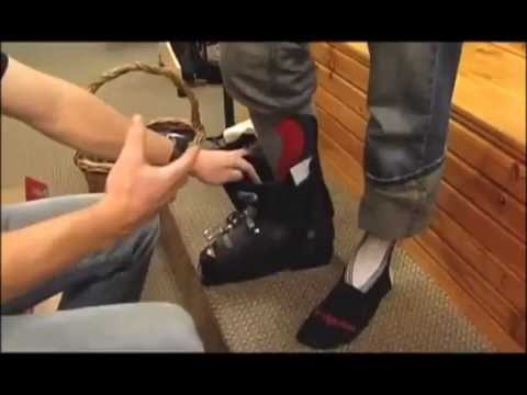 How to Fit a Ski Boot Correctly