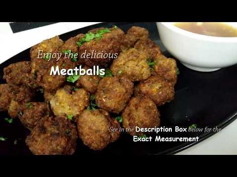 Homemade Meatballs